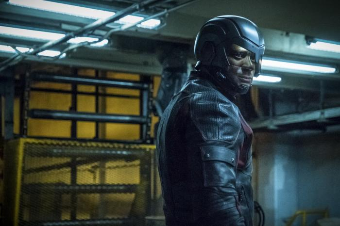 Imagen de Arrow 6×16, The Thanatos Guild