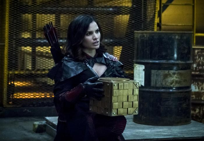 Imagen de Arrow 6×16, The Thanatos Guild, Nyssa Al Ghul