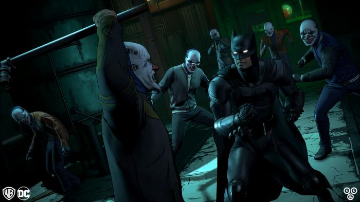 Imagen del quinto episodio de Batman: The Enemy Within: Same Stitch