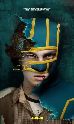 Póster no usado de Kick-Ass (2010)