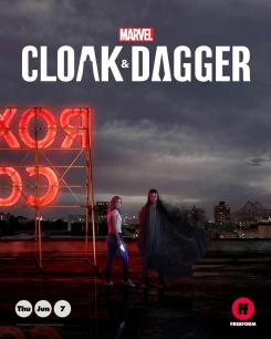 Póster de Cloak and Dagger (2018)