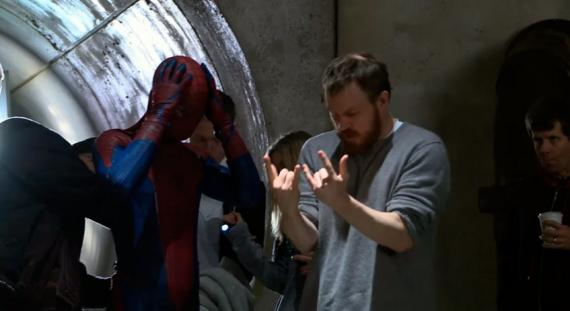 Imagen oficial del set de The Amazing Spider-Man (2012)