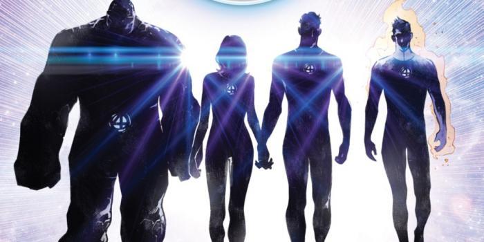 Recorte del regreso de los Cuatro Fantásticos a Marvel Comics