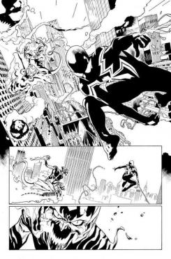 Lápices de Amazing Spider-Man #800