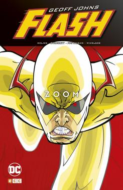 Portada de Flash de Geoff Johns: Zoom