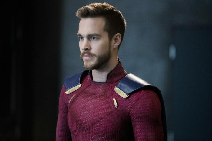 Mon-El en imagen Supergirl 3x15: In Search Of Lost Time