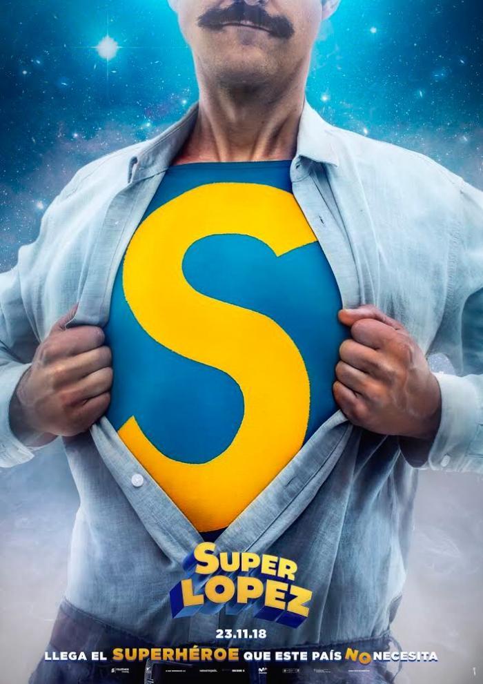 Póster de Superlópez (2018)