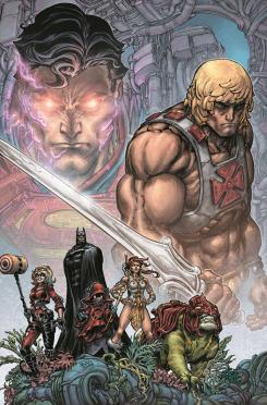Imagen del cómic Injustice vs. He-Man and the Masters of the Universe #1