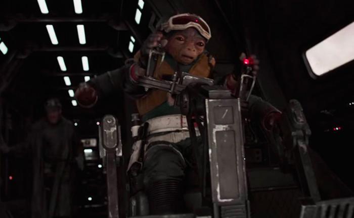 Captura del trailer de Han Solo: Una historia de Star Wars (2018)
