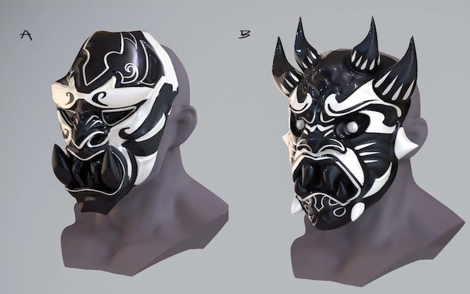 Imagen de máscara de matón de Mr. Negative en el videojuego de Spider-Man (2018)