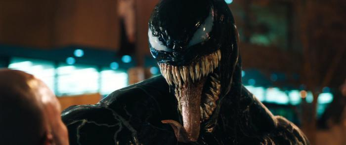 Captura del trailer de Venom (2018)