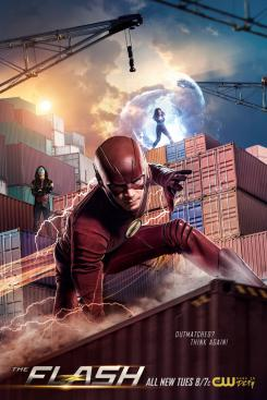 Póster promocional de The Flash 4×20: Therefore She Is