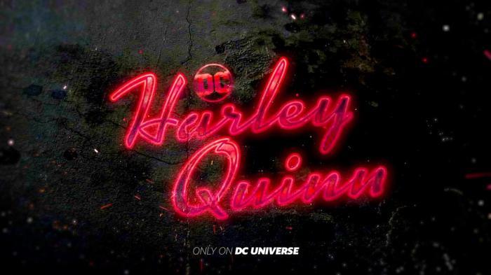 Logo de la serie de animación de Harley Quinn