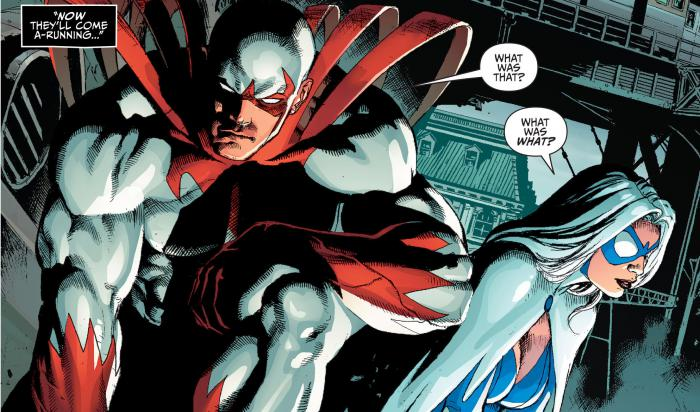 Hawk & Dove en los cómics de DC