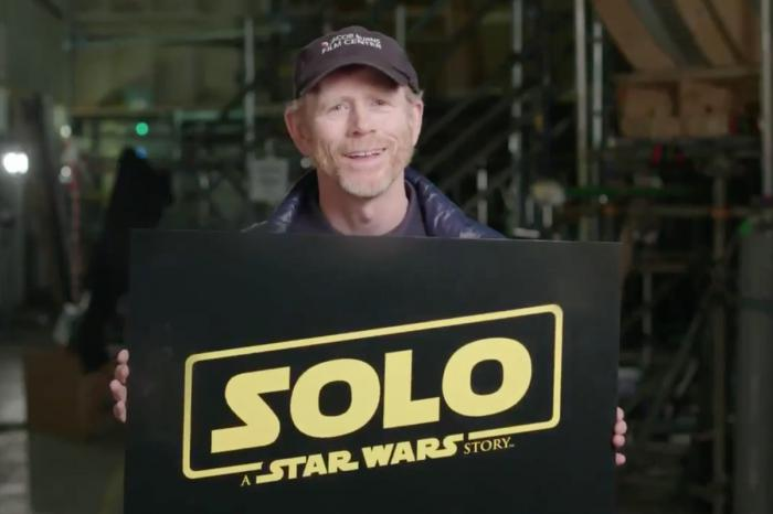 El director Ron Howard en la producción de Solo: A Star Wars Storty (2018)