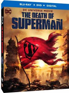 Carátula del Blu-Ray de Death of Superman