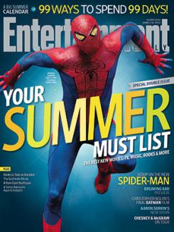 Portada del número especial Summer Must List de la revisa Entertainment Weelky