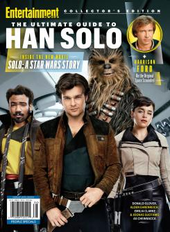 Portada de la revista Entertainment Weekly dedicada a Han Solo: Una historia de Star Wars (2018)