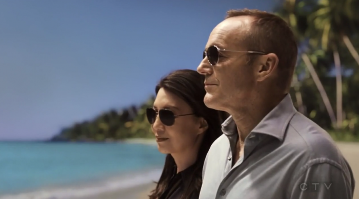 Coulson y May en Tahití (capítulo 22)