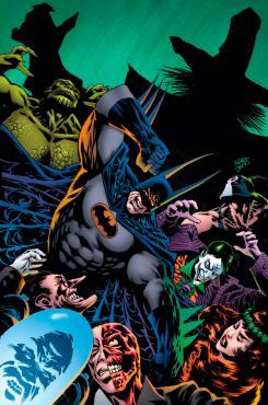 Imagen del comic Batman: Kings of Fear #1 (agosto 2018)