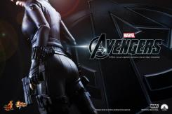 "Avance de la figura de Black Widow en ""The Avengers"" / ""Los Vengadores"" por Hot Toys"