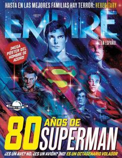 Empire celebra los 80 años de Superman con su portada
