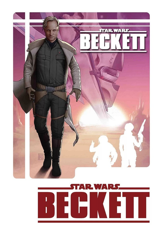 Portada de Star Wars: Becket, por John Tyler Christopher