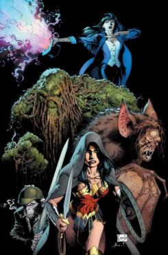 Portada alternativa de Justice League Dark #1, por Greg Capullo