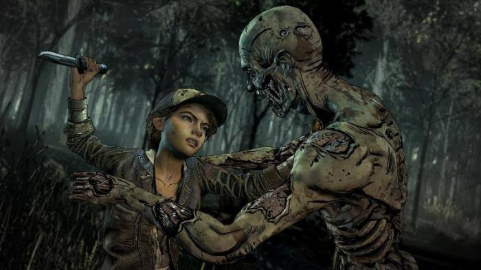 Imagen de la cuarta temporada de The Walking Dead: The Telltale Series