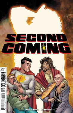Portada de Second Coming #1, por Richard Pace