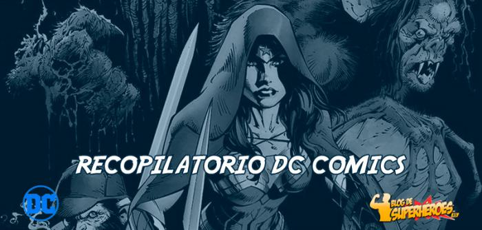 Recopilatorio DC Comics: portada de Justice League Dark y más
