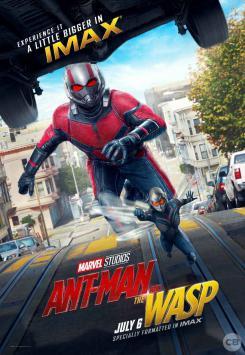 Póster IMAX de Ant-Man y la Avispa (2018)
