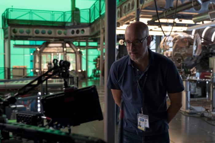 Imagen detrás de cámaras de Ant-Man y la Avispa (2018)