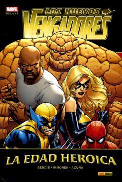 Marvel Deluxe. Los Nuevos Vengadores 14 La Edad Heroica