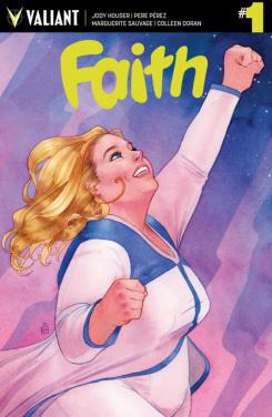 Portada cómic Faith #1, de Valiant Comic