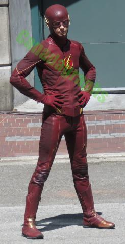 Imagen del set de The Flash (2014 - ?)
