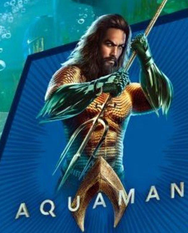 Promo art de Aquaman (2018)