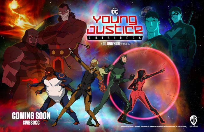 Banner de Young Justice: Outsiders