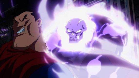 Imagen de la película de animación Superman vs The Elite (2012)