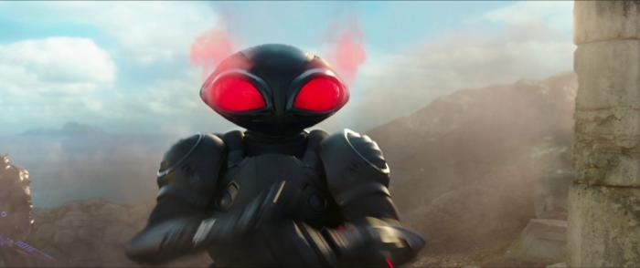 Black Manta en el primer trailer de Aquaman (2018)