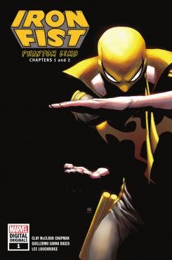 Portada del cómic digital Iron Fist #1