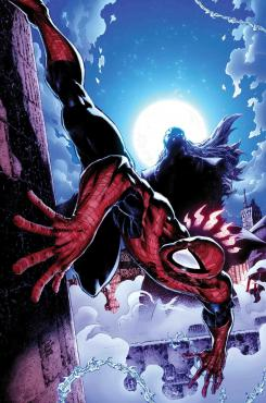 Imagen de Peter Parker: The Spectacular Spider-Man, Morlun busca a Spider-Man