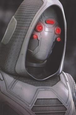 Concept art Ghost en Ant-Man y la Avispa (2018)