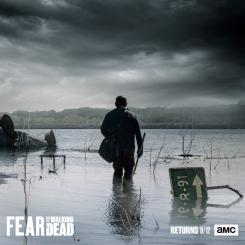 Póster de la segunda mitad de la cuarta temporada de Fear The Walking Dead (2018)