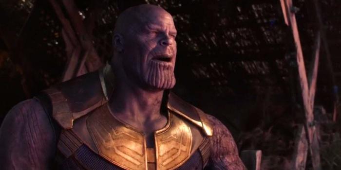 Imagen de Thanos tras el chasquido de dedos en Vengadores: Infinity War (2018)