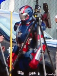 Imagen del set de Iron Man 3 (2013) en Wilmington, Carolina del Norte en Estados Unidos