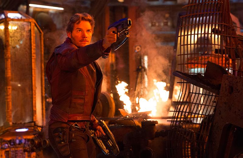 Imagen de Star-Lord en Vengadores: Infinity War (2018)