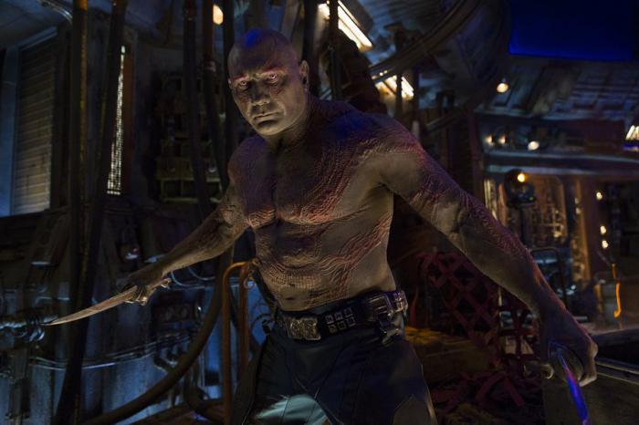 Imagen de Drax en Vengadores: Infinity War (2018)