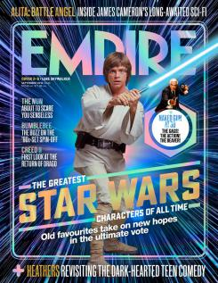 Portada de Empire dedicada a Luke Skywalker, de Star Wars