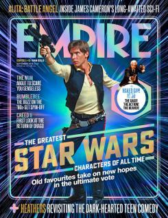Portada de Empire dedicada a Han Solo, de Star Wars